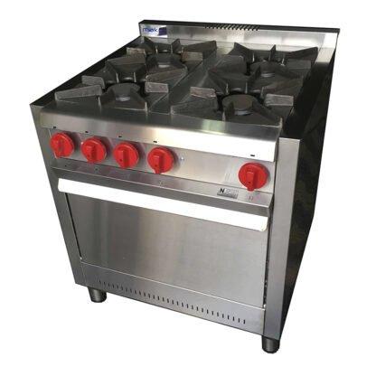 cocina Makor G75 4 hornallas
